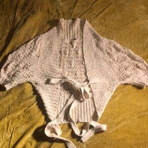 Free people size medium short sleeve sweater